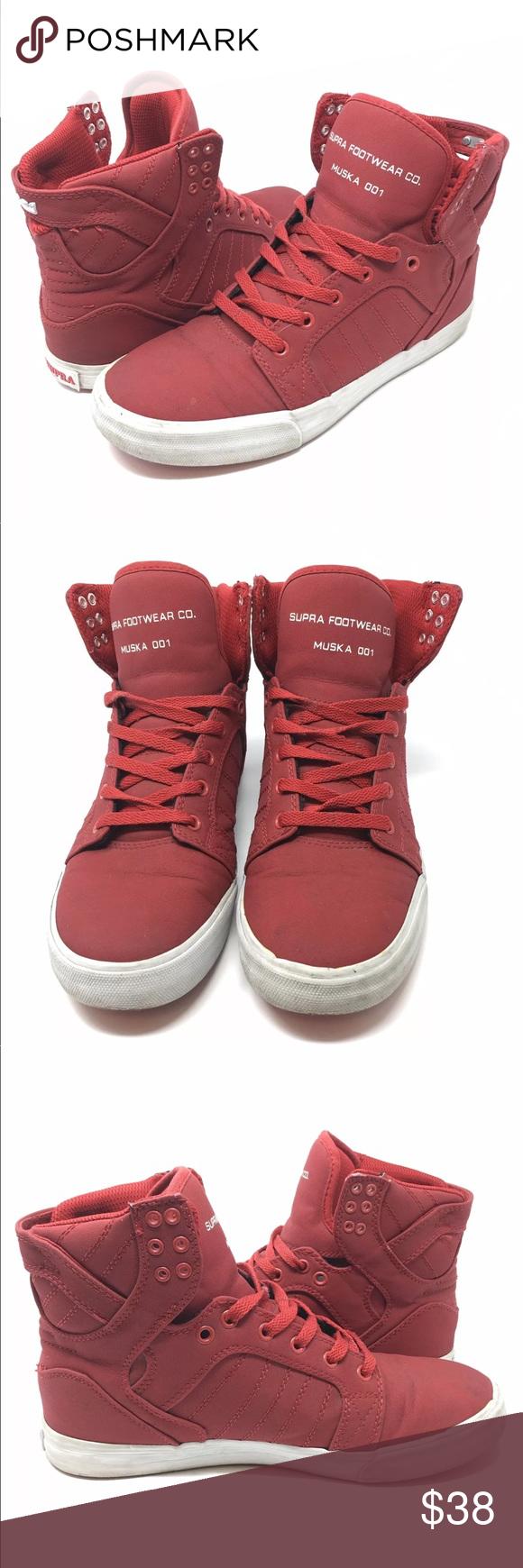 Supra Footwear Co. Men's Muska 001 Red