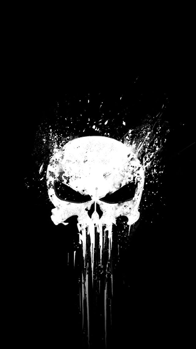 Punisher Wallpaper Iphone Punisher Marvel Punisher Artwork Punisher Art