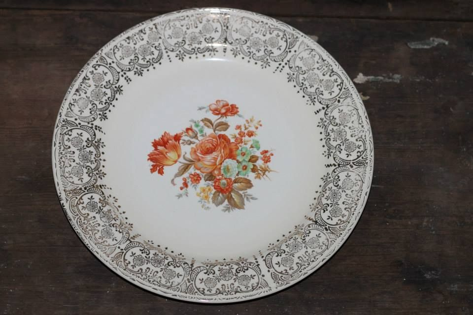 Southern Vintage Rental Mix and Match China Collection for weddings or events - Orange accents Vogue · Orange WeddingsDinner PlatesHomer ... & Southern Vintage Rental Mix and Match China Collection for weddings ...
