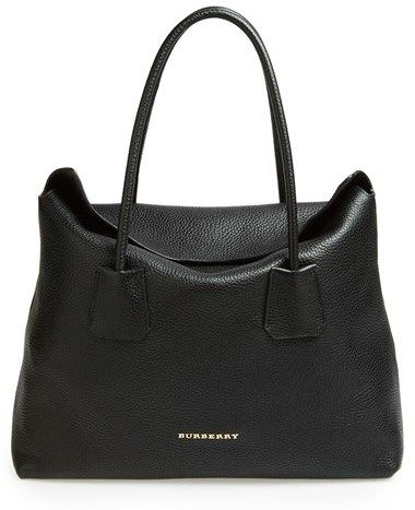 $1,095, Burberry Baynard Leather Tote. Sold by Nordstrom.