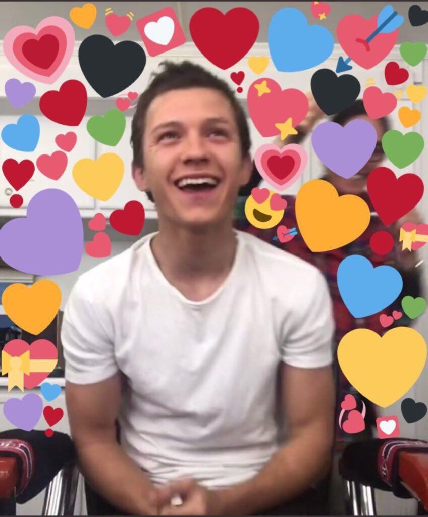 Tom Holland Tom Holland Tom Holland Spiderman Love Memes
