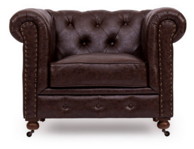 Copy Cat Chic | Chic For Cheap: Restoration Hardware Kensington Leather  Chair