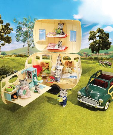 Take a look at this Caravan Camper Set by Calico Critter on #zulily today! www.zulily.com/invite/520