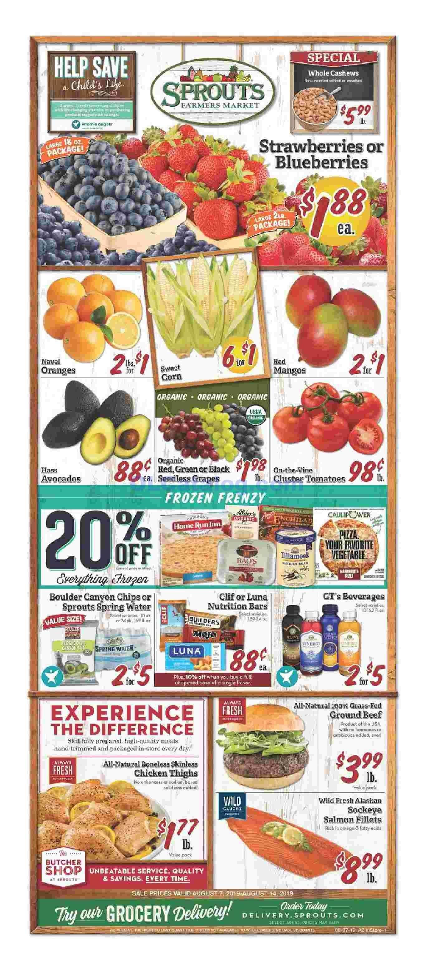 Sprouts Weekly Ad August 7 14 2019