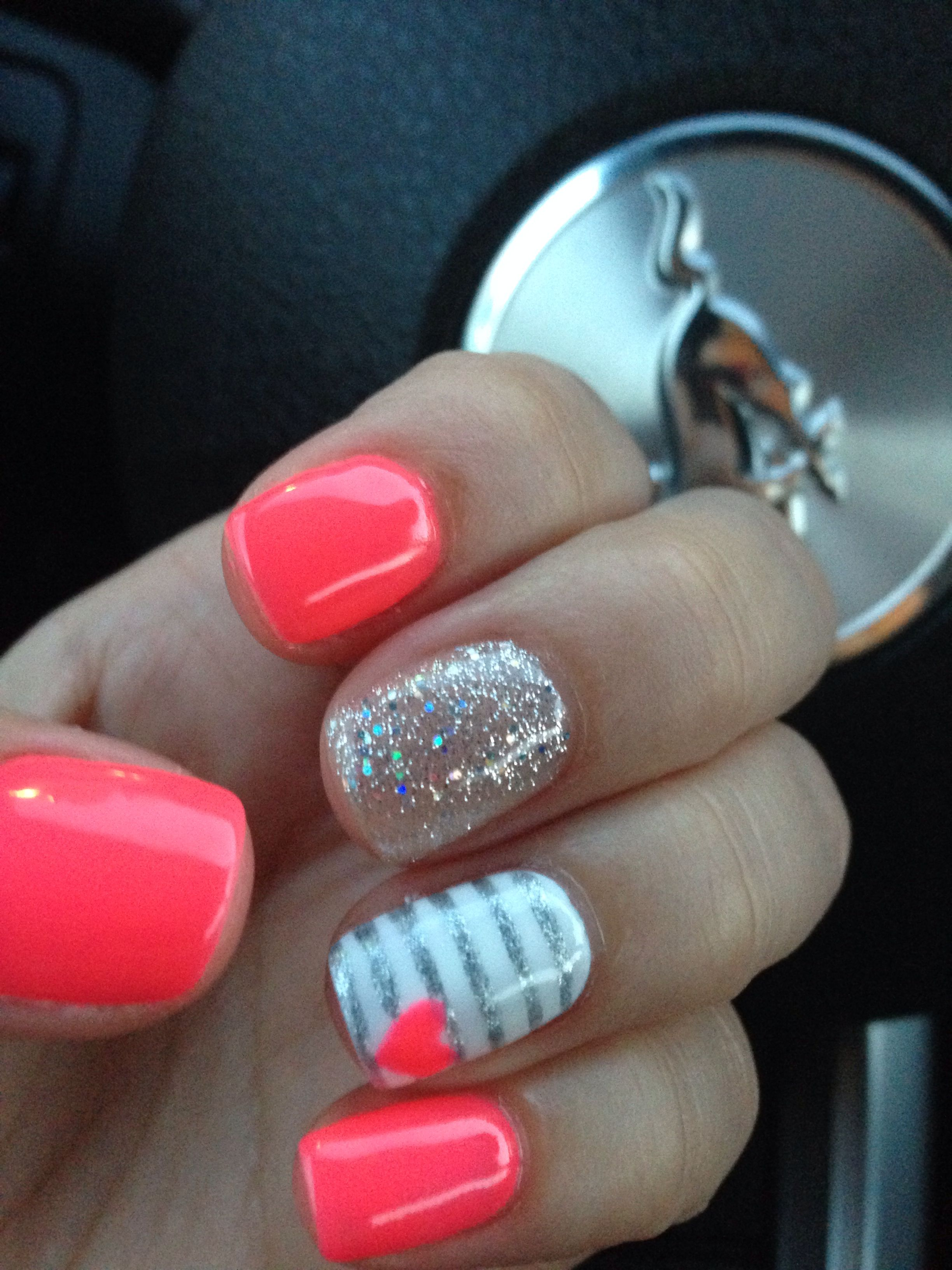 26 Nail Art Ideas Perfect For Short Nails | Nails | Pinterest ...