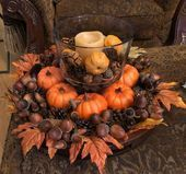 21 Gorgeous DIY Thanksgiving Centerpieces Table Decorations Ideas,#centerpieces …