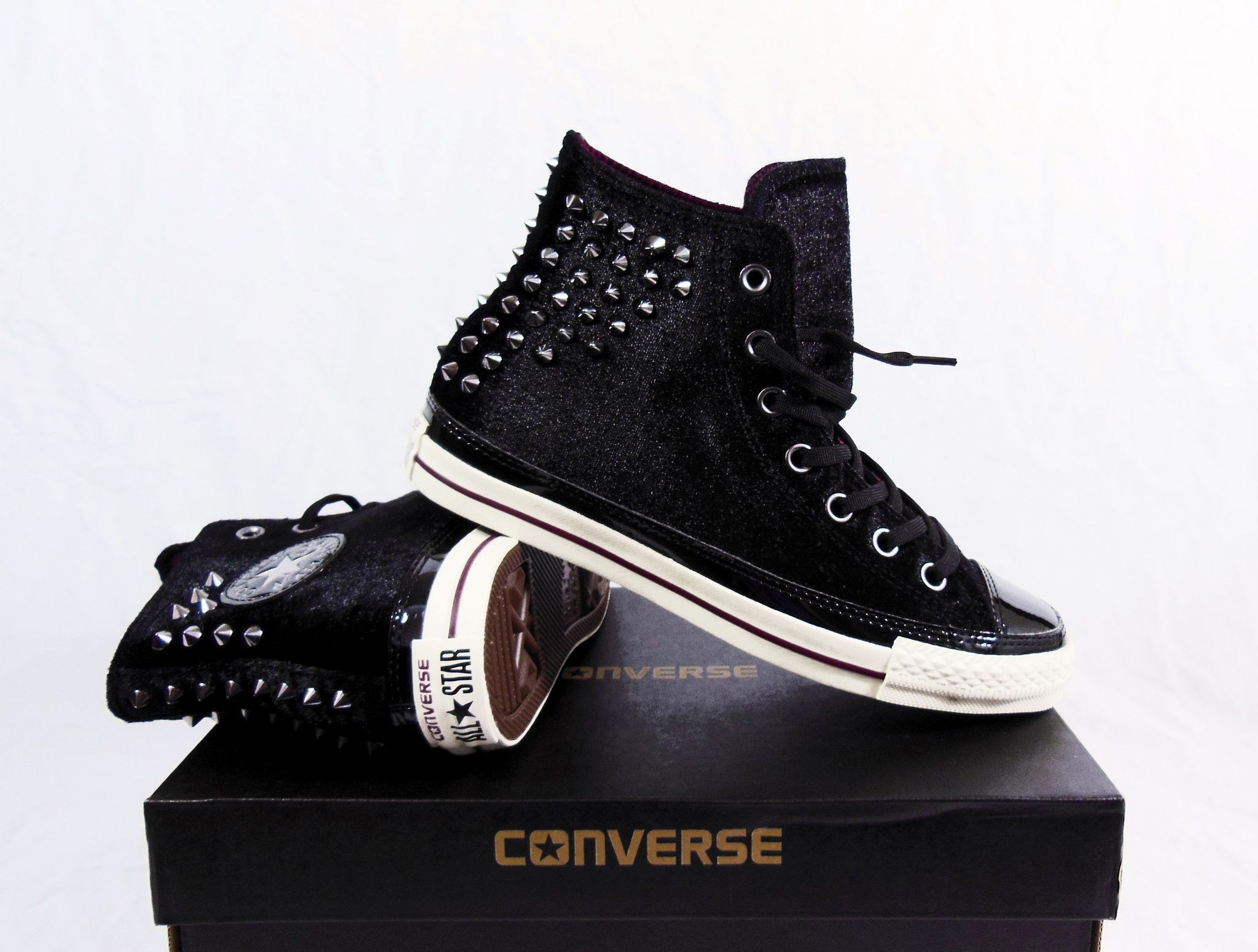 CT AS HI VELVET STUDS - FOOTWEAR - High-tops & sneakers Converse Hot Sale For Sale aQ9TAC
