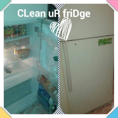Clean ur fridge in no tme ♡♡