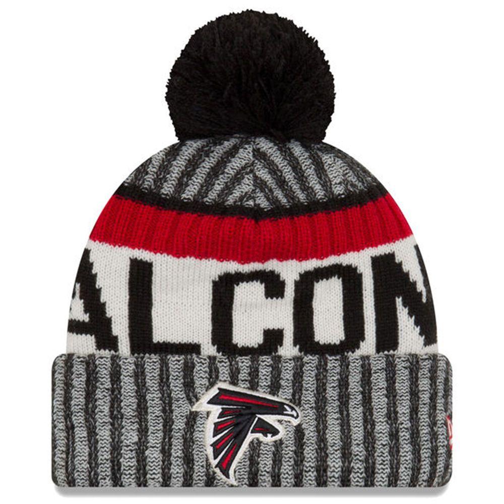 Youth Atlanta Falcons Nfl New Era 2017 Sideline Official Sports Knit Hat Beanie Newera Atlantafalcons Atlanta Falcons Hat Atlanta Falcons Knitted Hats