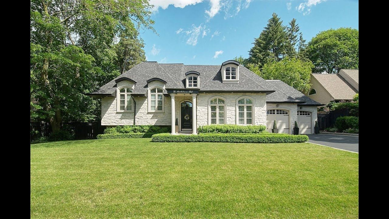 French Chateau Style Home in Toronto, Ontario, Canada