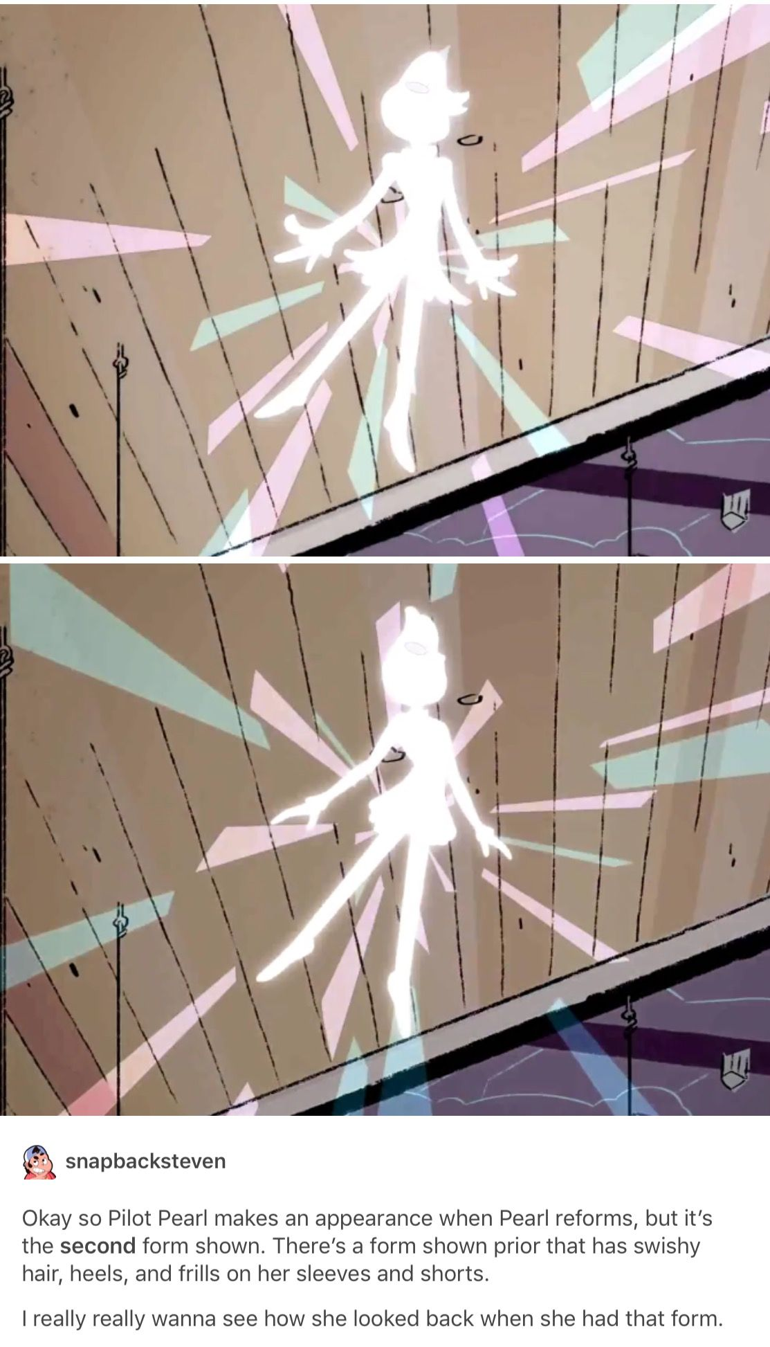 I Just Want A Time Where Pearl Had Her Old Forms And I Ll