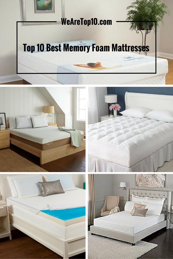 Top 10 Best Memory Foam Mattresses For A Good Night S Sleep Bed Mattress Memory Foam Foam Mattress Memory Foam Mattress Reviews