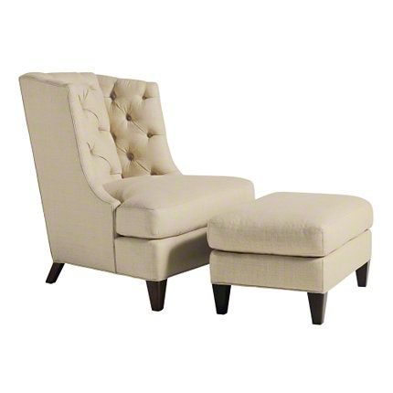 Baker Furniture : Moderne Wing Chair   6331 : Thomas Pheasant : Browse  Products