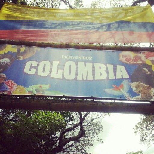 Colombia....el riesgo es q te quieras quedar
