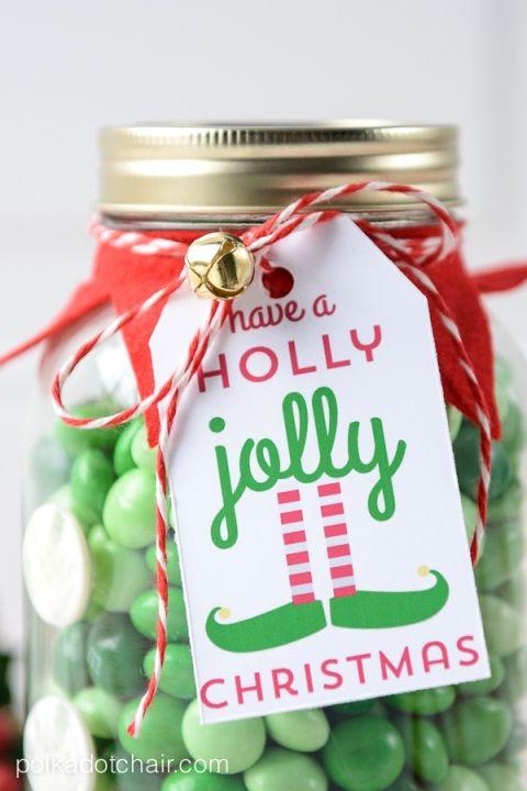 Elf mason jar christmas gifts on christmas mason jars free elf christmas mason jar gift and free printable gift tag negle Gallery
