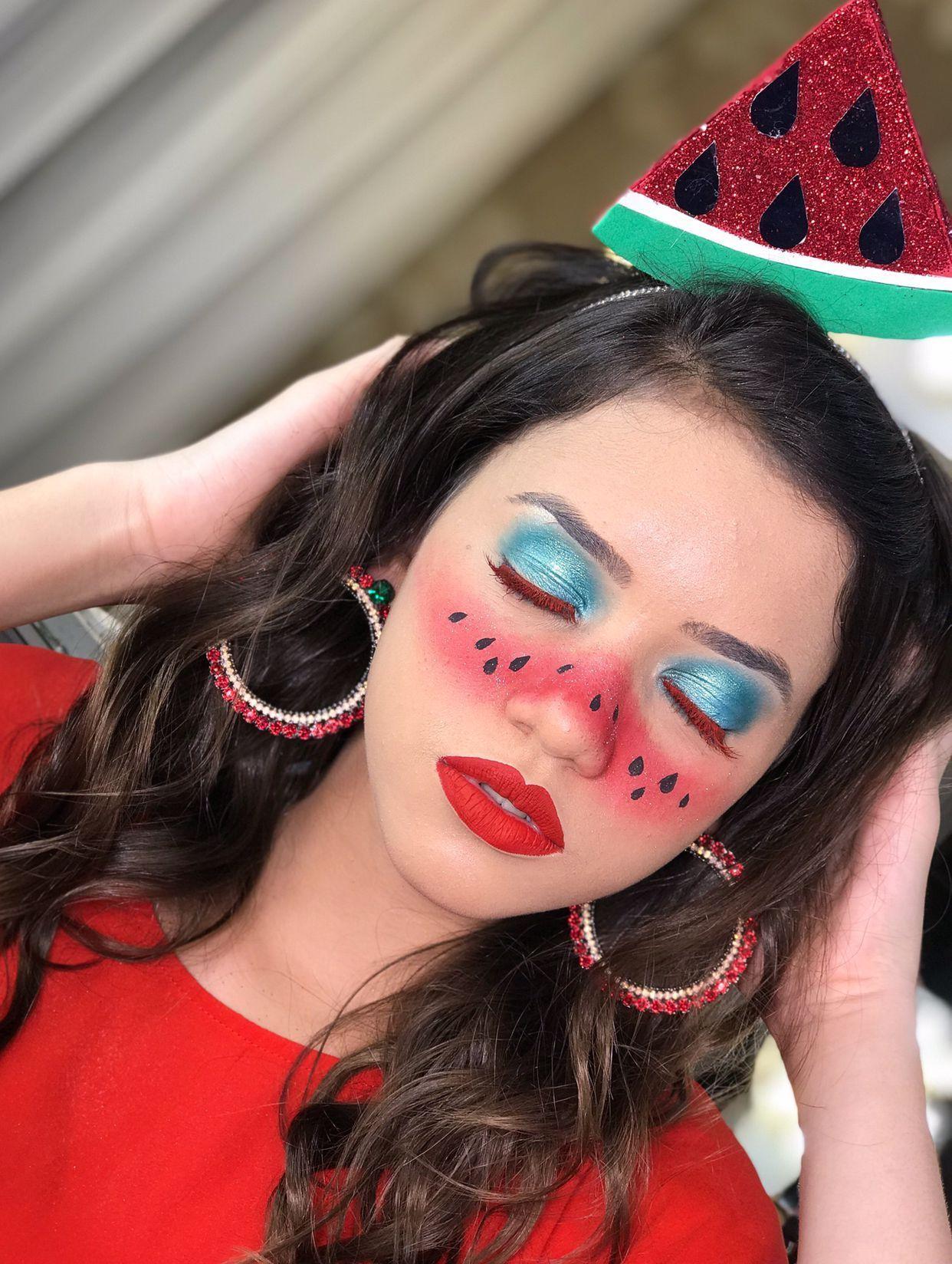 Vanessa Oliveira Vanessaoliveira Maquiagens Fotos Y Videos De Instagram Fantasia De Melancia Acessórios Carnaval Fantasias De Halloween Para Meninas