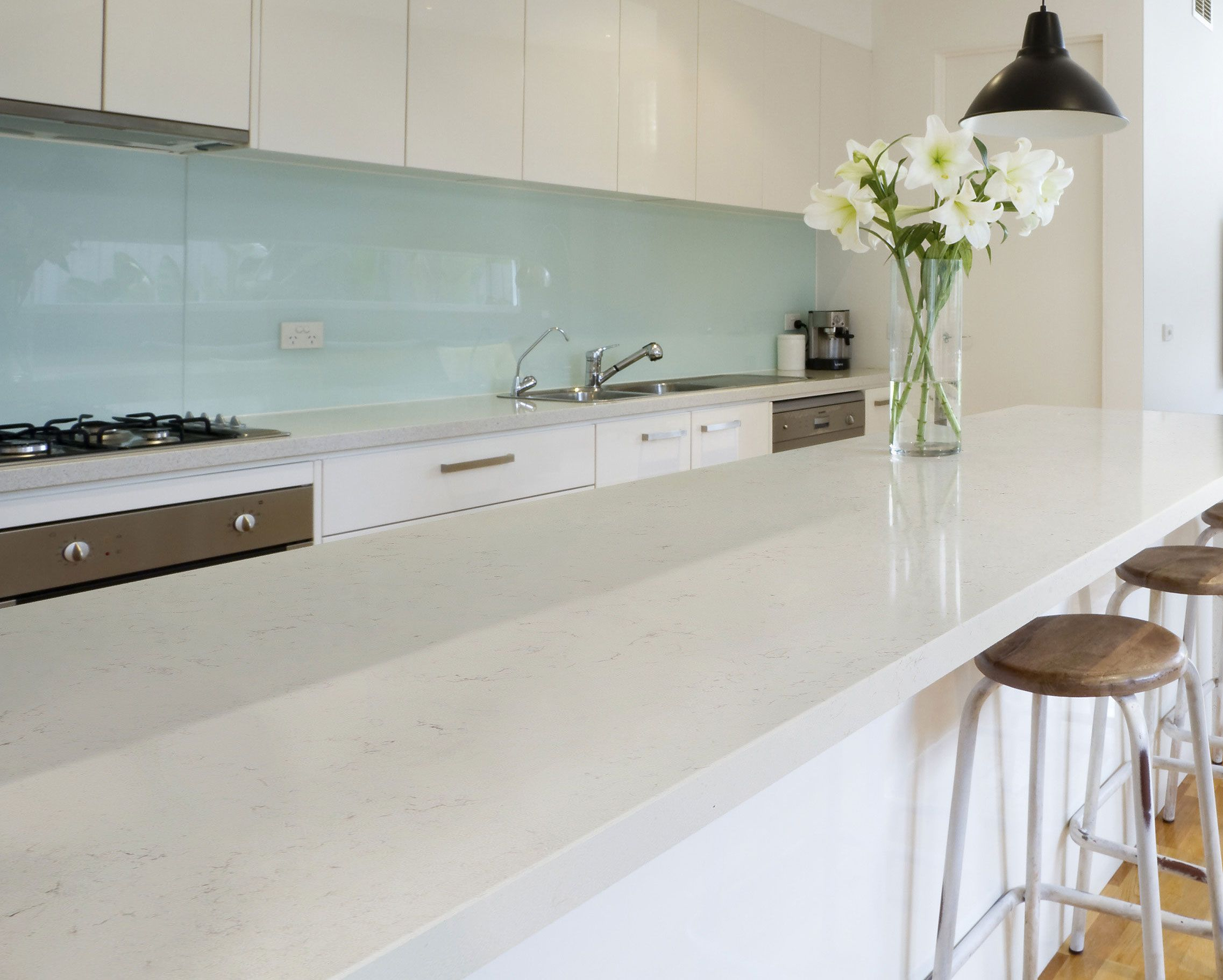 Silestone S Ariel Quartz Is Simple Yet Sophisticated