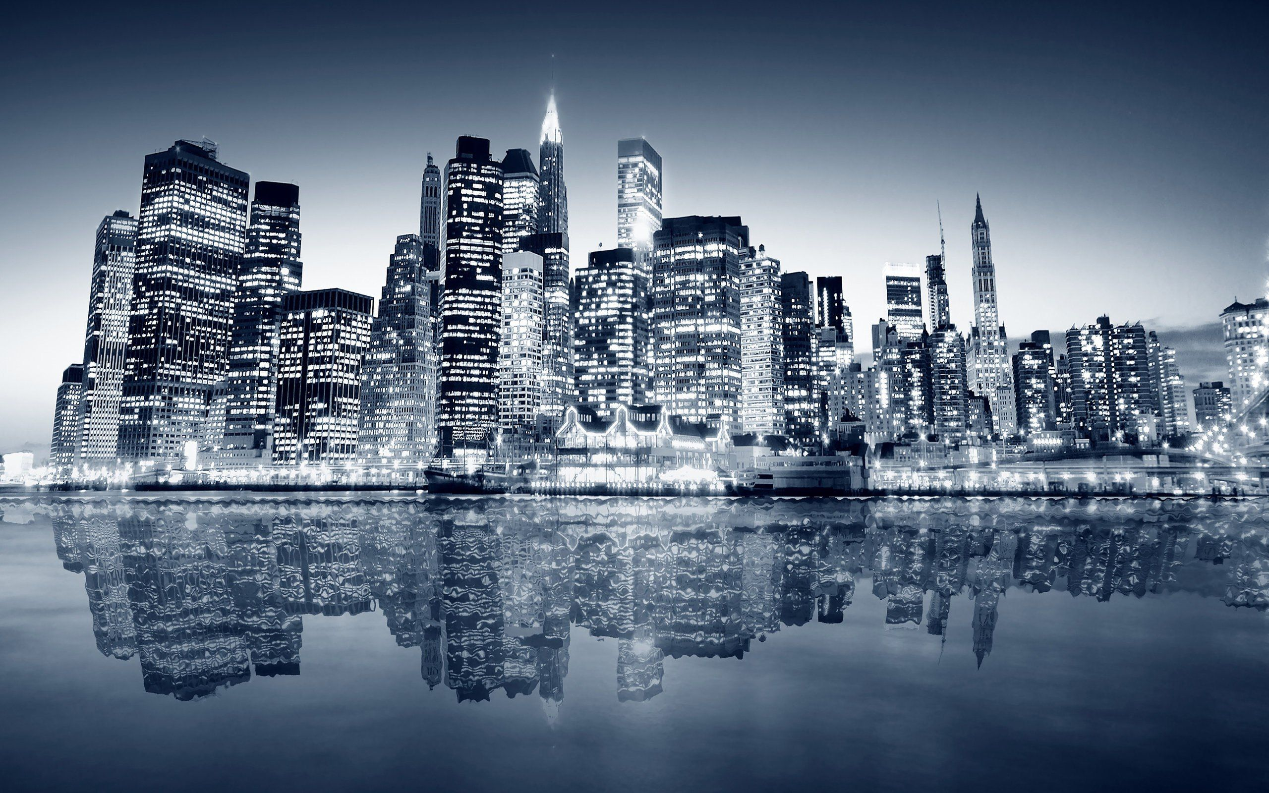 Black And White New York Skyline 9 Wallpaper Hd Hd Backgrounds Hd Screensavers Hd Wallpapers 1080p Full Size Images Hd Widescreen Wallpapers Desktop Wallpapers