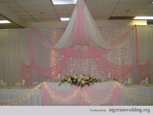 10 Fabulous Wedding Reception Stage Decor Ideas In Nigeria