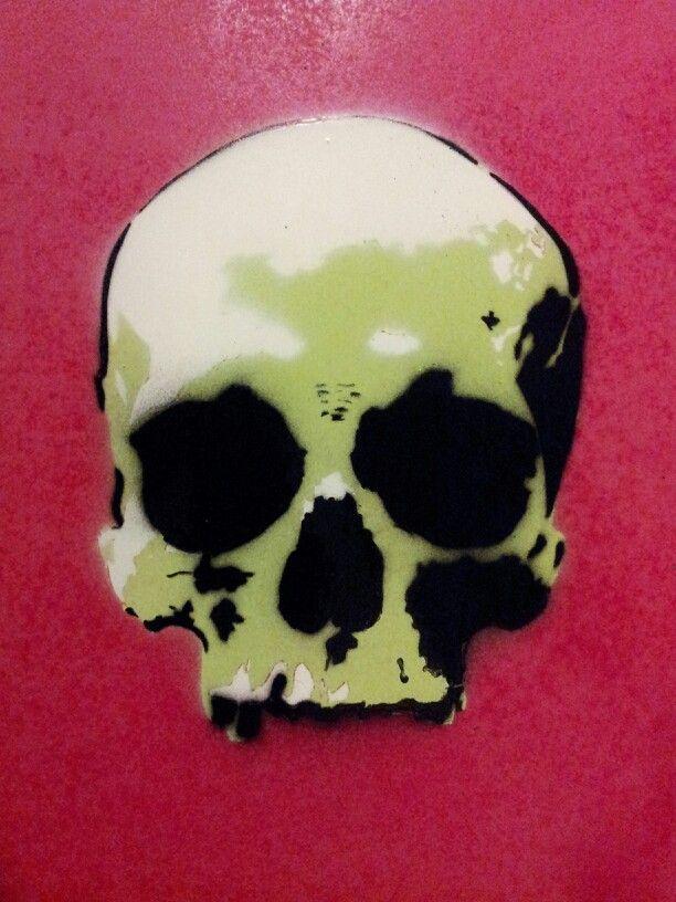 Skull Stencil Skull Stencil Skull Art Skull