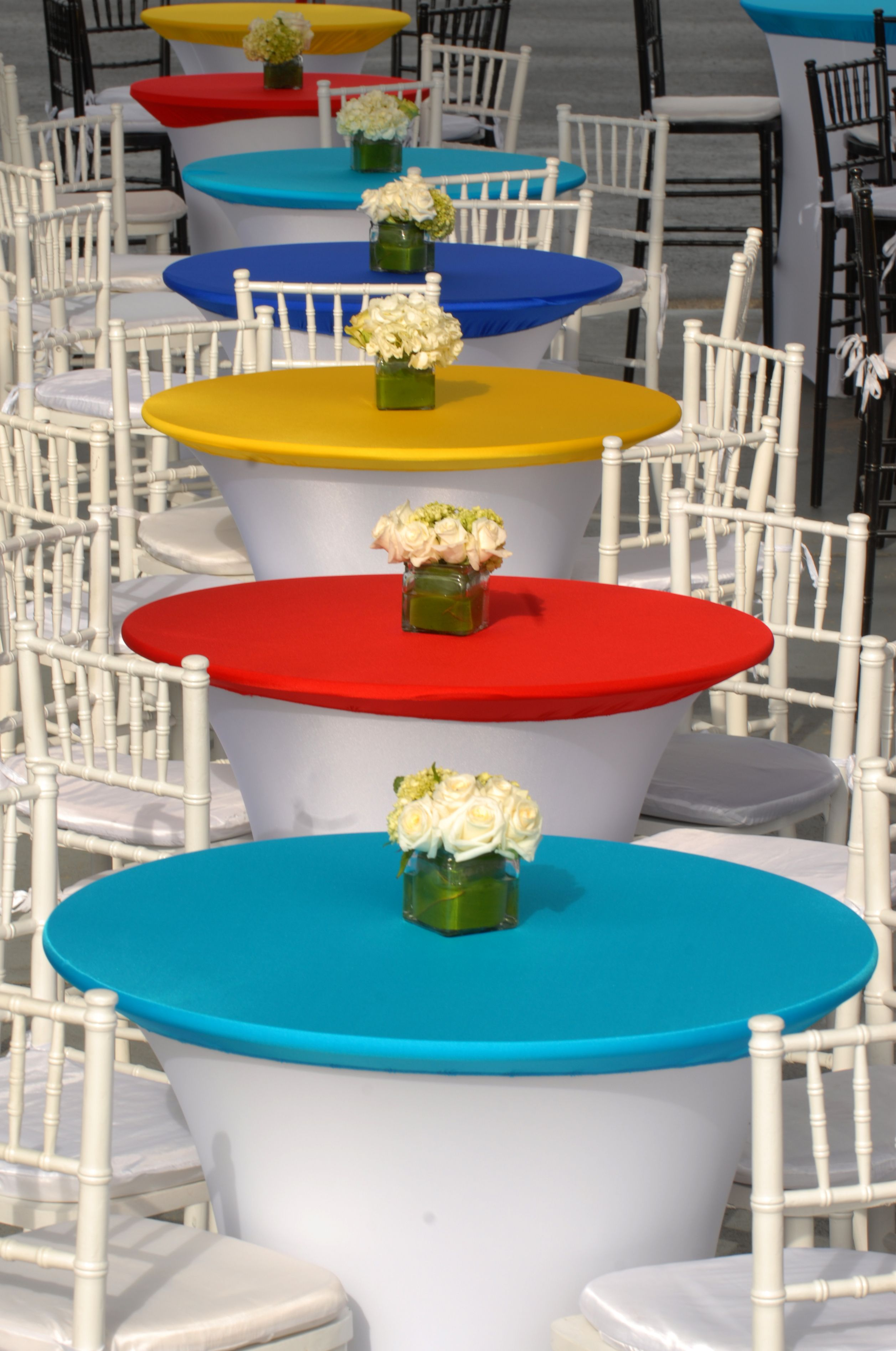 Cruiser Table Spandex Toppers Cocktail Tables Table