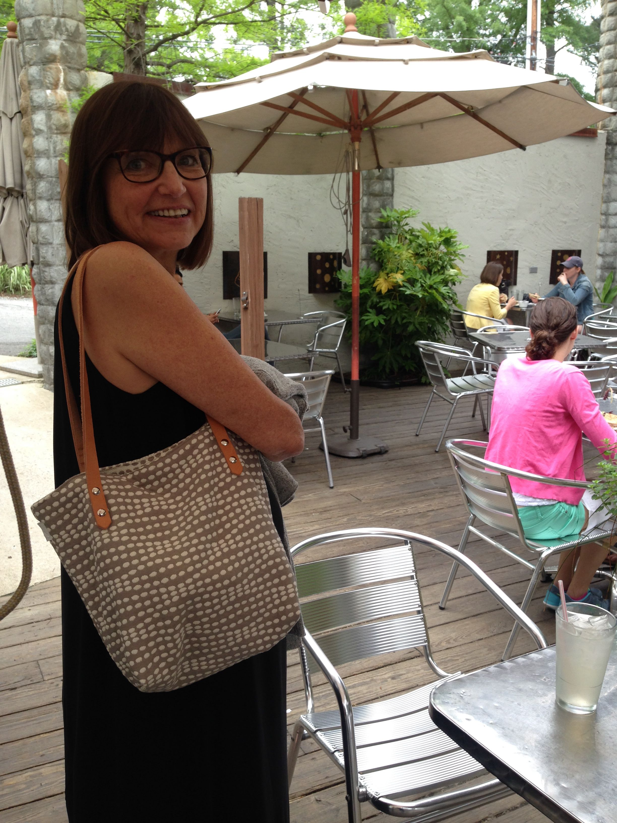 Spotted our Hadley Tote!