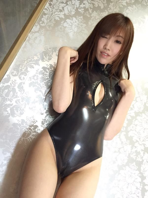 PVC Asian zz  Asian latex  Pinterest  Latex, Swimsuits and Asian ladies