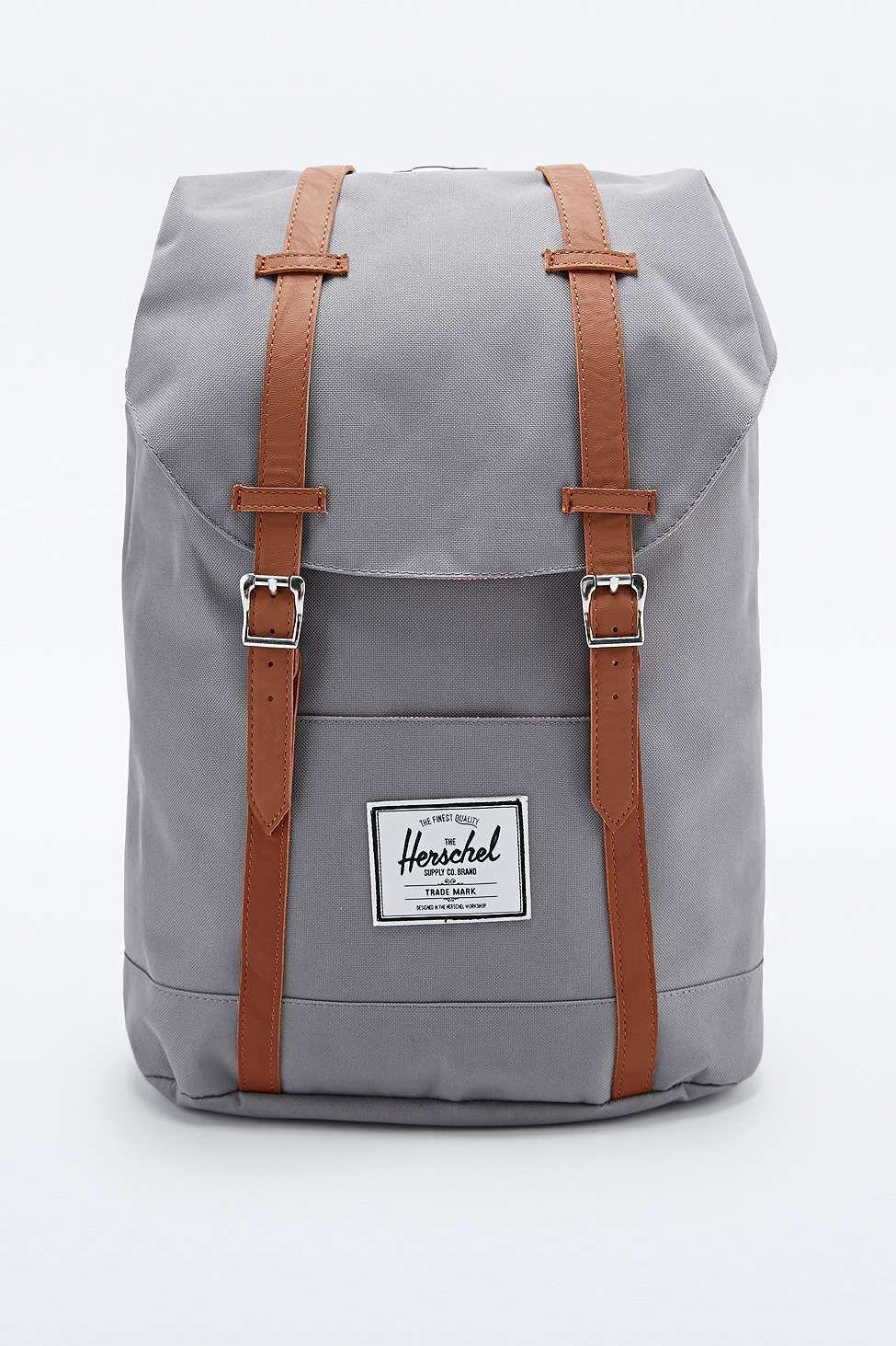 Herschel Supply co. Retreat Backpack in Grey Herschel Supply Co, Backpack  Bags, Urban 9af2a79502