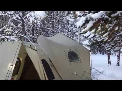 When c&ing in a Cabela Bighorn 3 outfitter tent winter tenting is not considered a hardship. Itu0027s more like a luxury condo. & Cabela tent winter comforts - YouTube | Outdoor Living/Survivalist ...