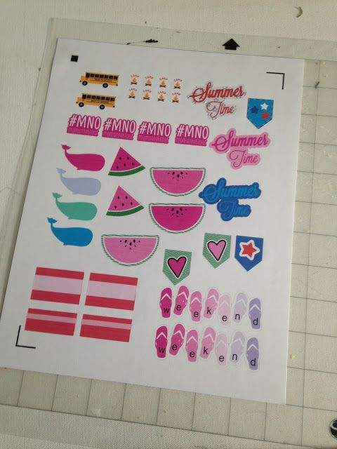 how to make silhouette planner stickers repositionable and giveaway silhouette school