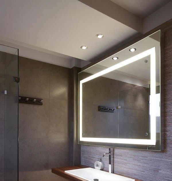 Backlit mirror designer bathroom mirrors with lights home interior design https ift also pin by cinta shalawat on ideas rh pinterest