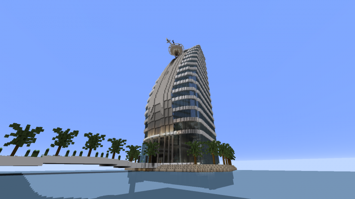 Burj Al Arab Minecraft Project Minecraft Pinterest Minecraft - Minecraft hauser map