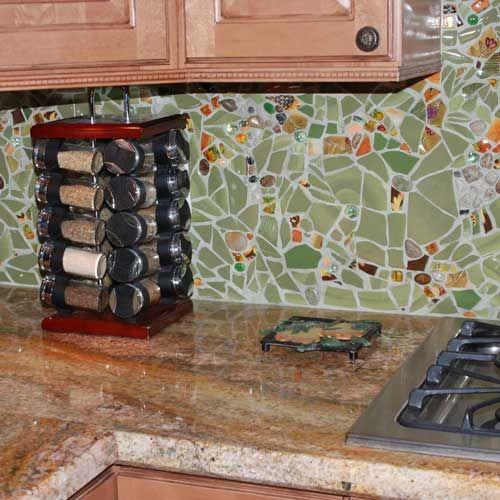 die besten 25 k che mosaik ideen auf pinterest mosaik mosaikfliesenkunst und mosaikwand. Black Bedroom Furniture Sets. Home Design Ideas
