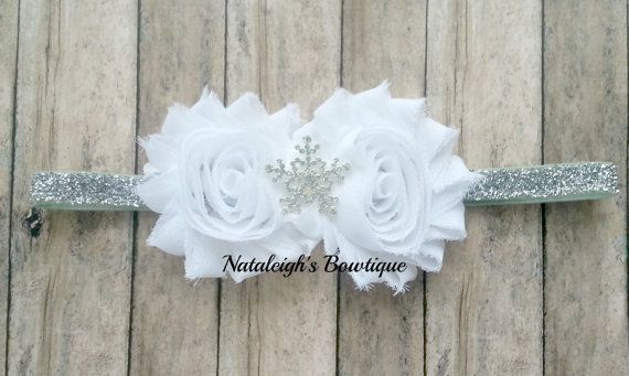 Hey, I found this really awesome Etsy listing at https://www.etsy.com/listing/212792639/snowflake-headband-silver-glitter