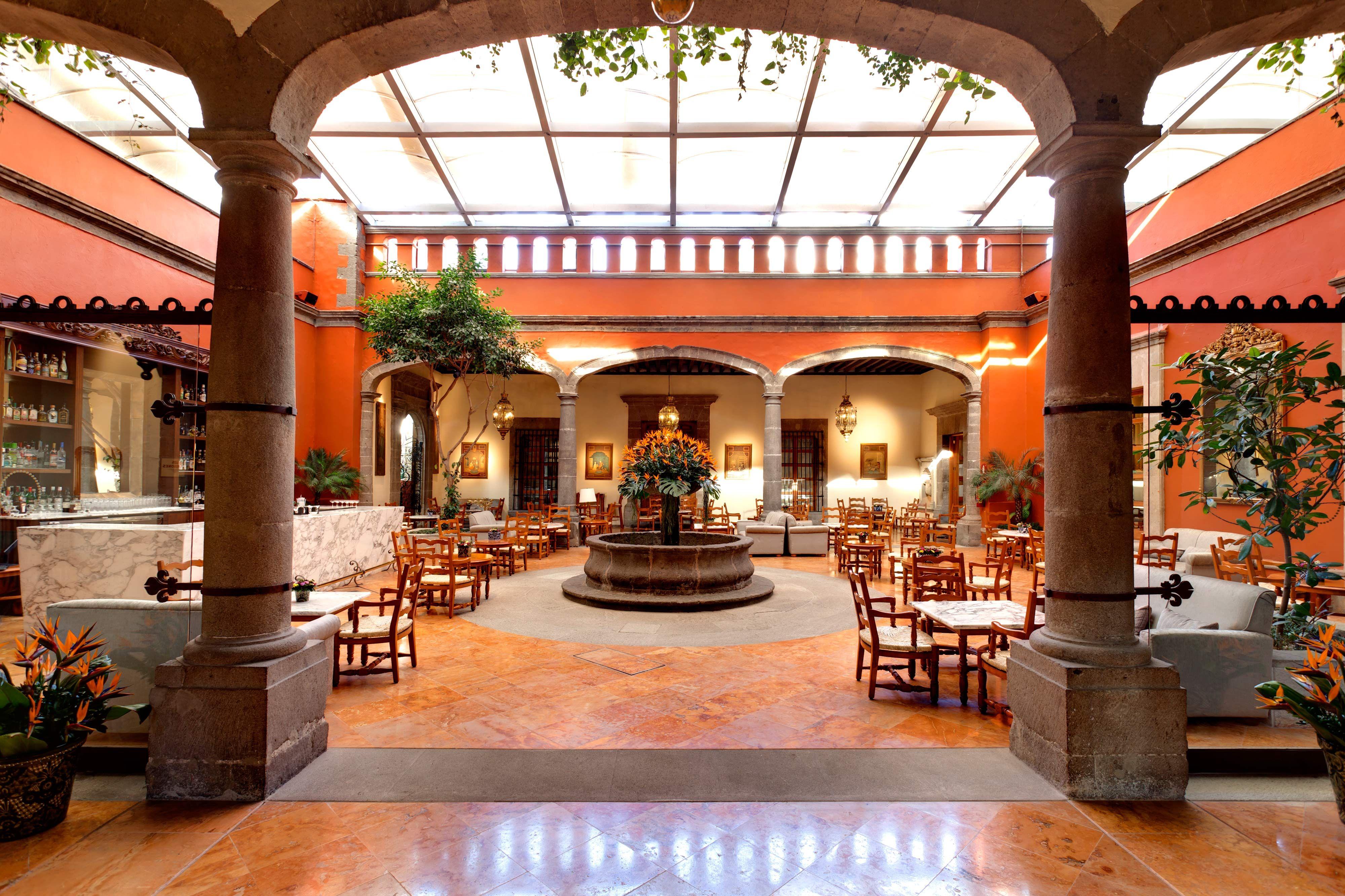Hacienda de Los Morales, Mexico City Hacienda style