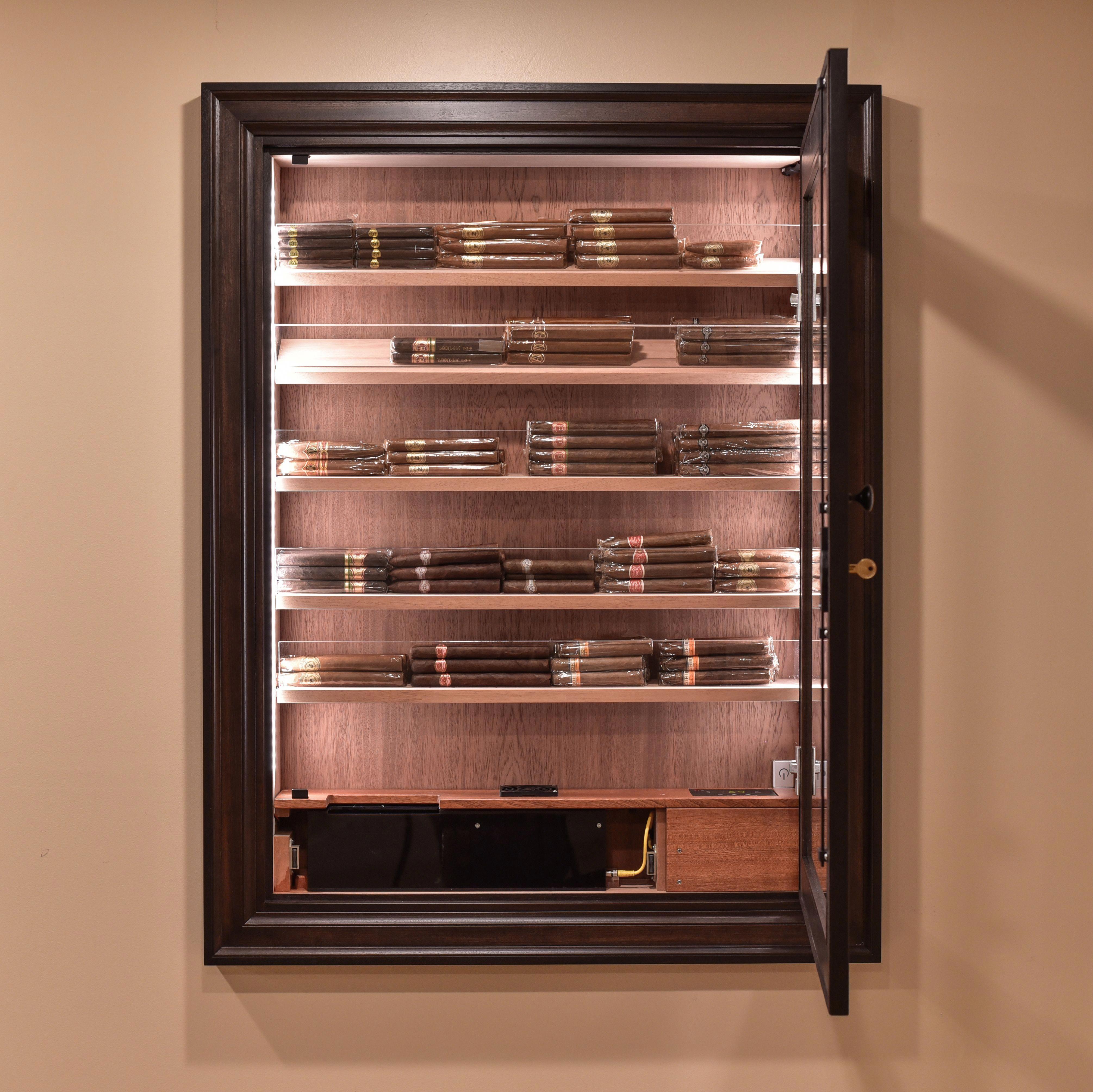 Acrylic Cigar HumidorPractical Modern and Minimalist Design
