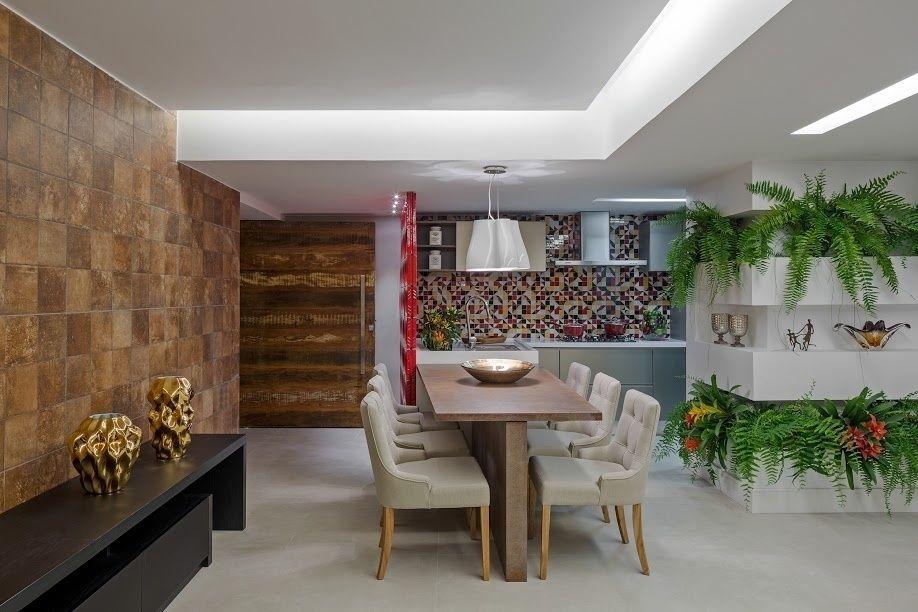 salas de jantar pequenas com mesas encostadas na parede e na bancada decoration. Black Bedroom Furniture Sets. Home Design Ideas