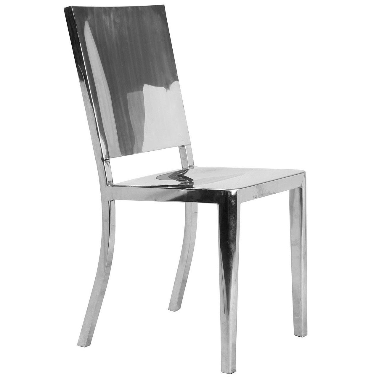 Polish Stainless Steel Huson Chair|ALuminum Navy Chairs And Barstools  Supplier WSD