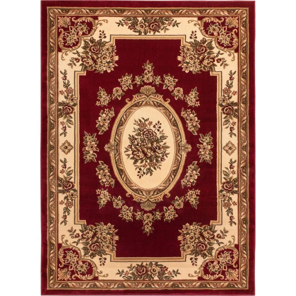 Timeless Le Pe Palais Red 6 Ft 7 In X 9 3