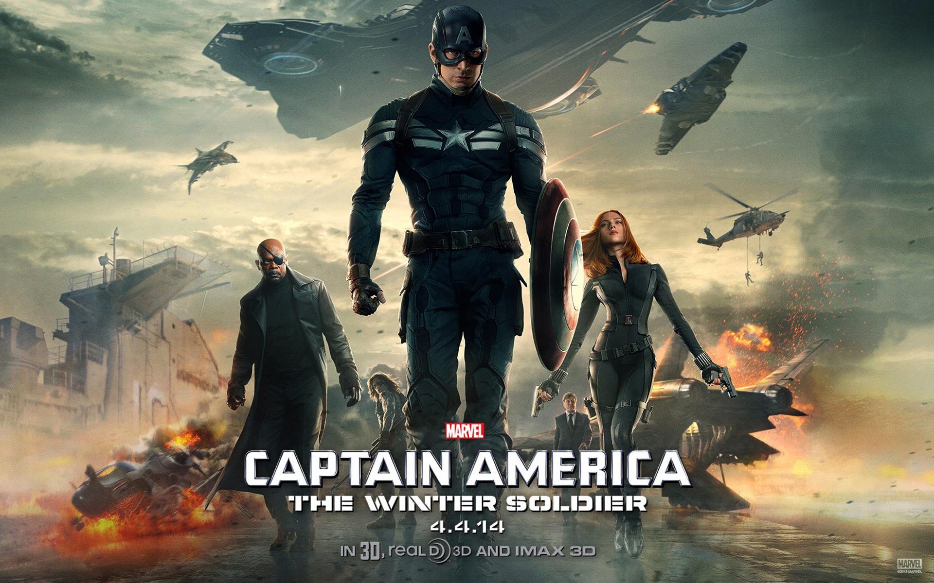 captain america the winter soldier movie hd wallpapers | wallpapers