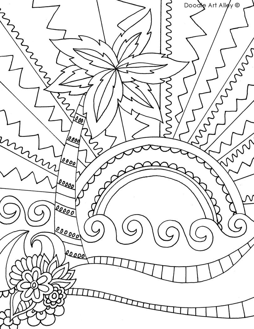 Pin by Mary Kiefer on Coloring sheets Summer coloring
