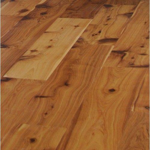 Wide Plank Engineered Smooth Golden Australian Cypress Hard Wood