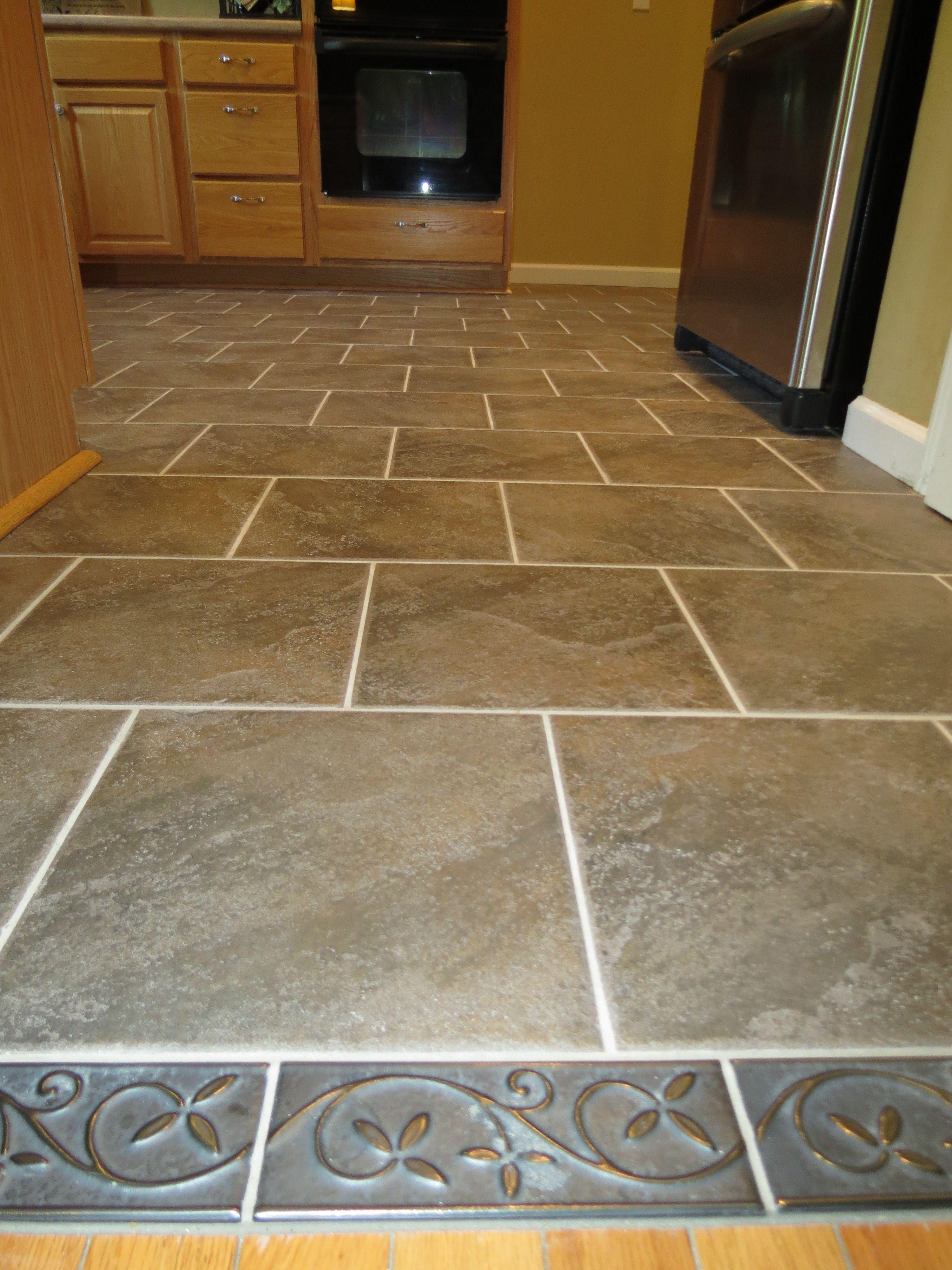 Kitchen Floor Tile Designs Design Kitchen Flooring Kitchen