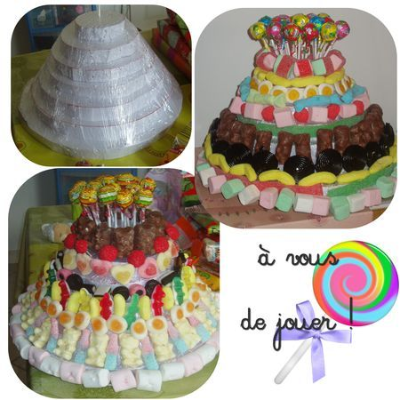 gateau_bonbon | diy maman et maîtresses | pinterest | gâteau