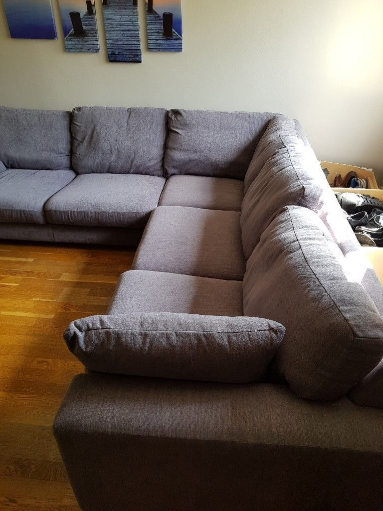 Whitstable Corner Sofa Grey 2 63m X 2 63m X 96m Great Condition In Uxbridge London Gumtree Grey Corner Sofa Corner Sofa Sofa
