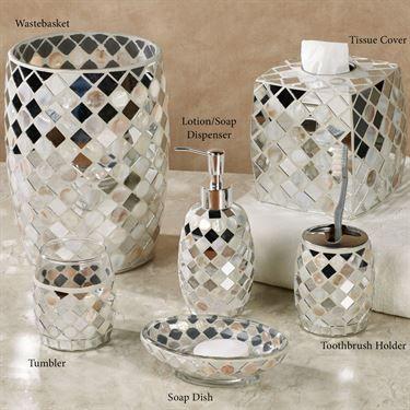 mirror mosaic bathroom accessories round mirrors fresh and tiles wall ideas  home depot