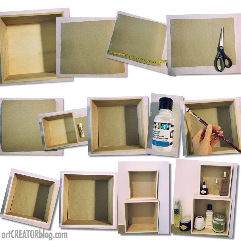 DIY storage ideas 1 Shelve modules Schrank zimmer