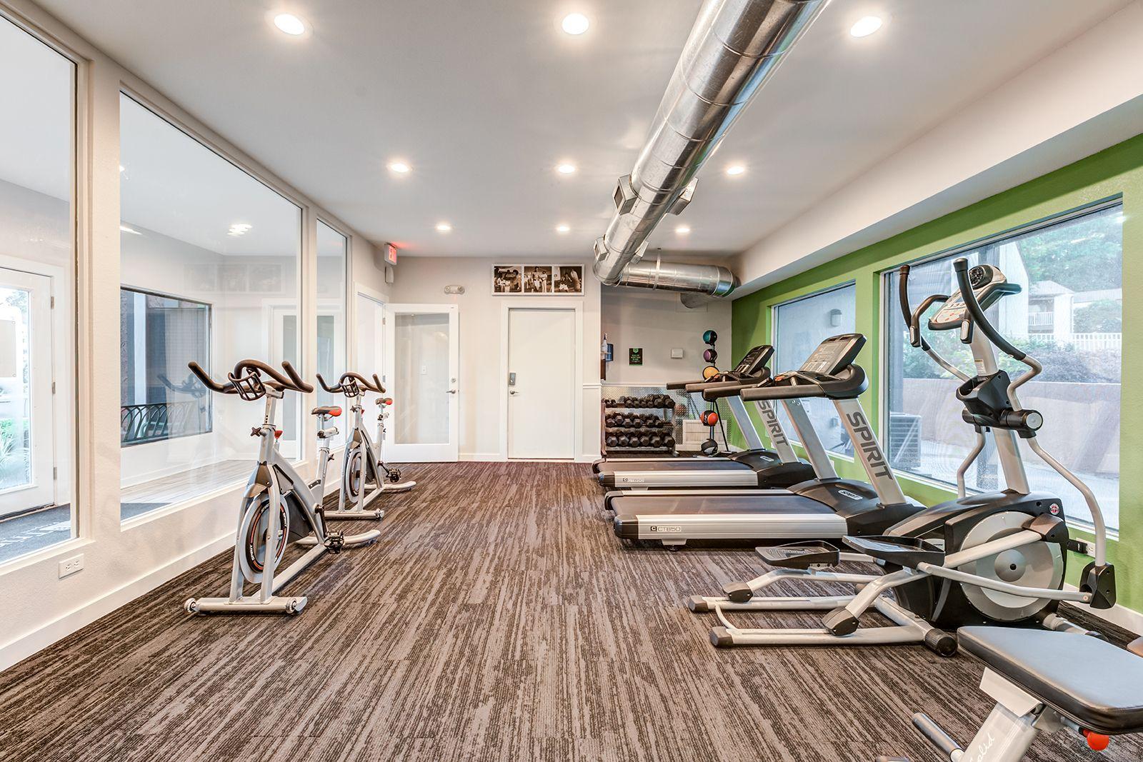 Break a sweat in our fitness center. Amenities