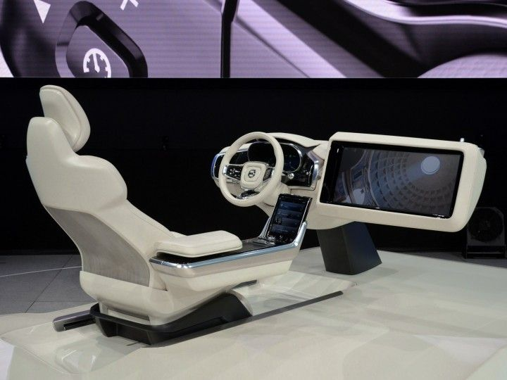 Volvo Unveils Concept 26 Interior Design Study With Video
