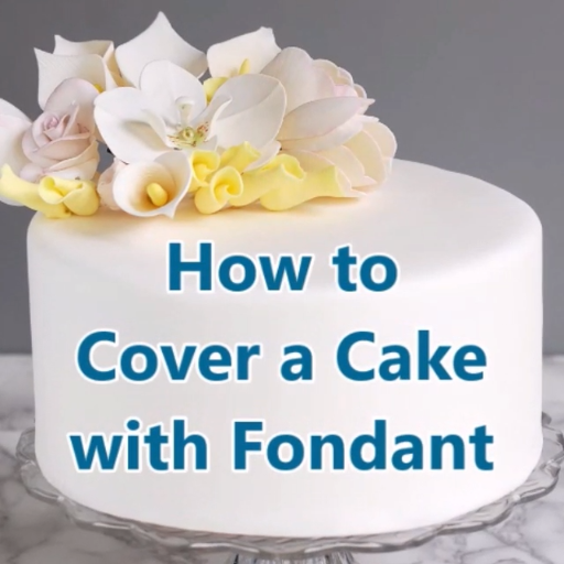 Love it or hate it, there is no doubt that a cake with a porcelain fondant finish is a thing of beauty. After you learn how to cover a cake with fondant you'll be ready to create spectacular celebration cakes. #easiest #howto #rolledfondant #tips #tutorial #cakedecoratingvideos
